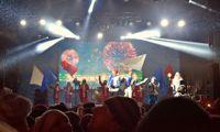 В новогоднюю ночь на Советскую площадь пришли 15 тысяч человек: фото и видео