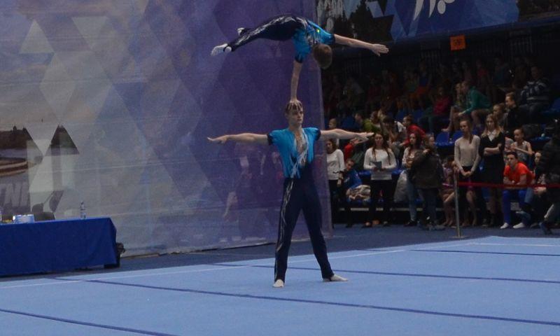 350 спортсменов приехали в Ярославль на первенство ЦФО по спортивной акробатике