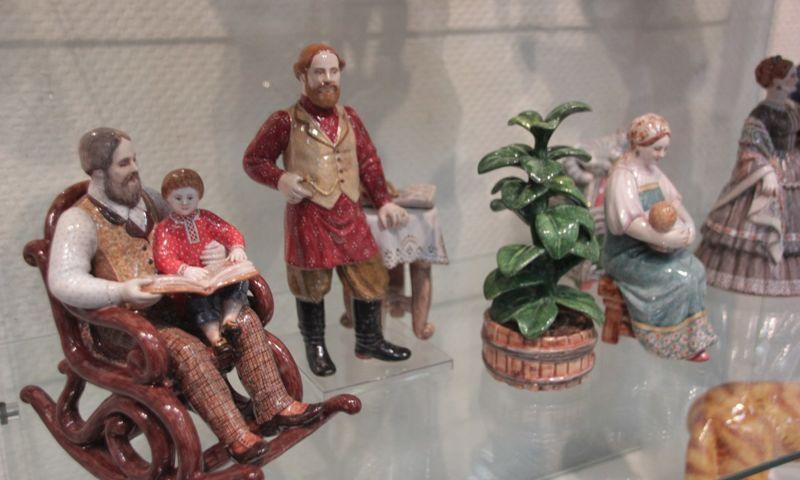 В Ярославле на выставке майолики представлены всемирно известные экспонаты