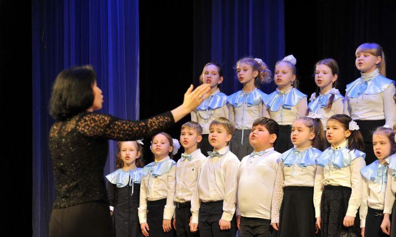 В XV фестивале школьных хоров «Русская зима» принимают участие 700 человек