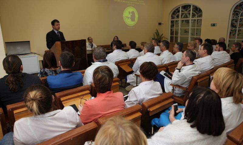 Новый главврач онкологической больницы представлен коллективу учреждения