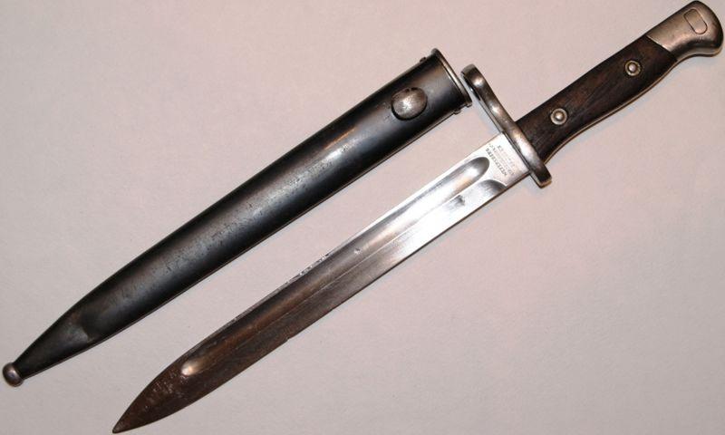 Ярославец пытался продать в Костроме раритетный штык-нож XIX века