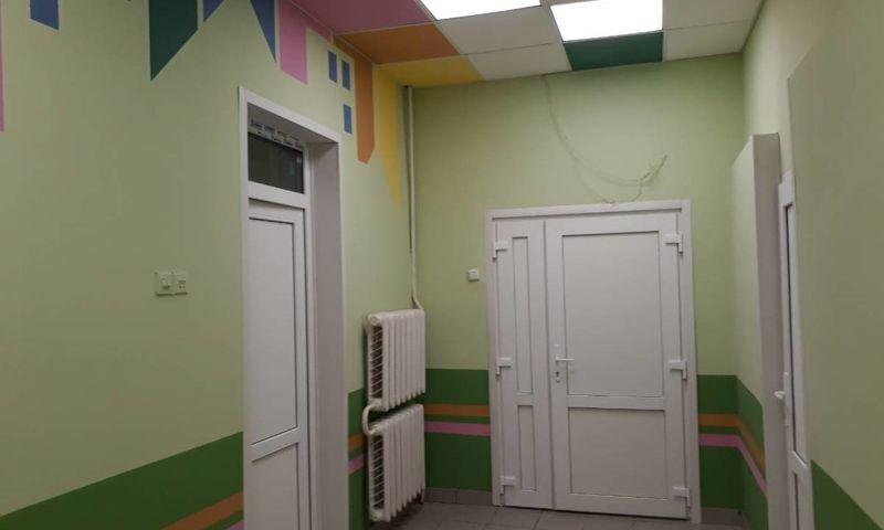 В детской поликлинике имени Семашко заканчивается ремонт бокса для оказания неотложной помощи