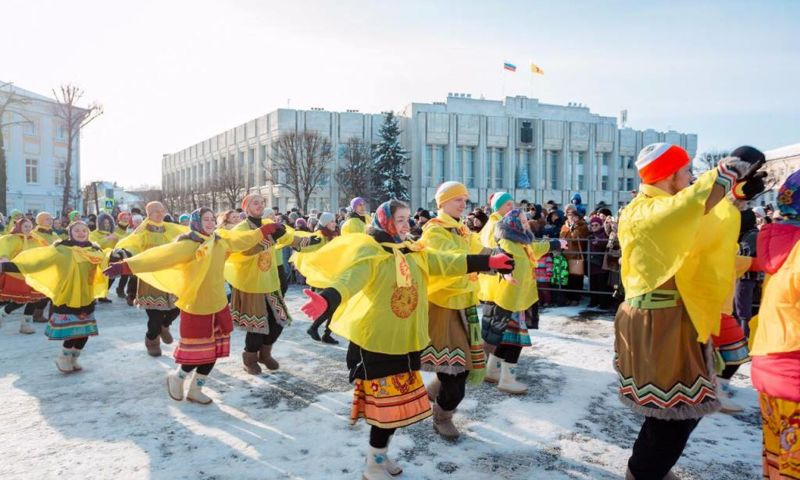 В Ярославле закрылся фестиваль «Главная Масленица страны»