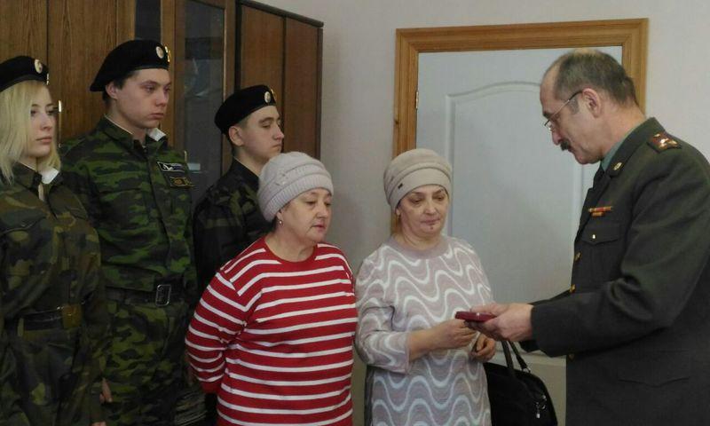 Медаль «За отвагу» передали родственникам солдата Великой Отечественной войны в Рыбинске