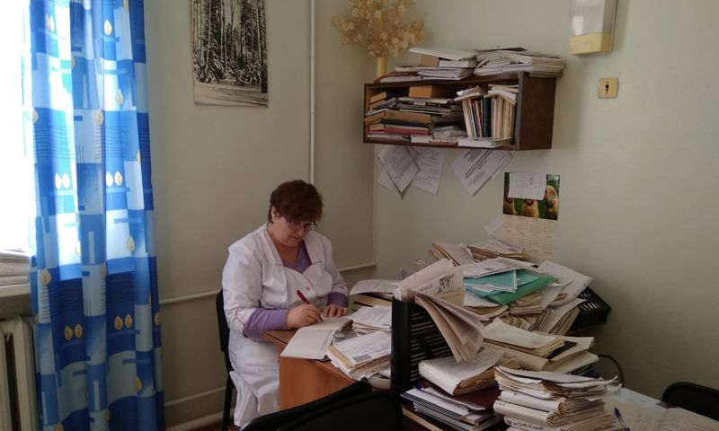 В амбулатории поселка Борок начался прием пациентов