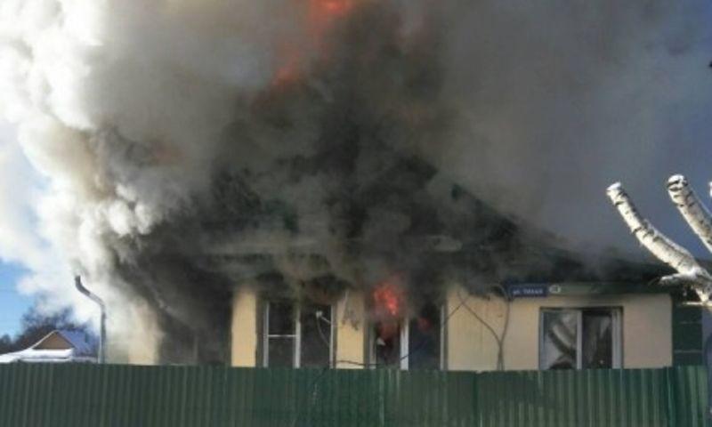 В Ярославской области на пожаре погиб мужчина
