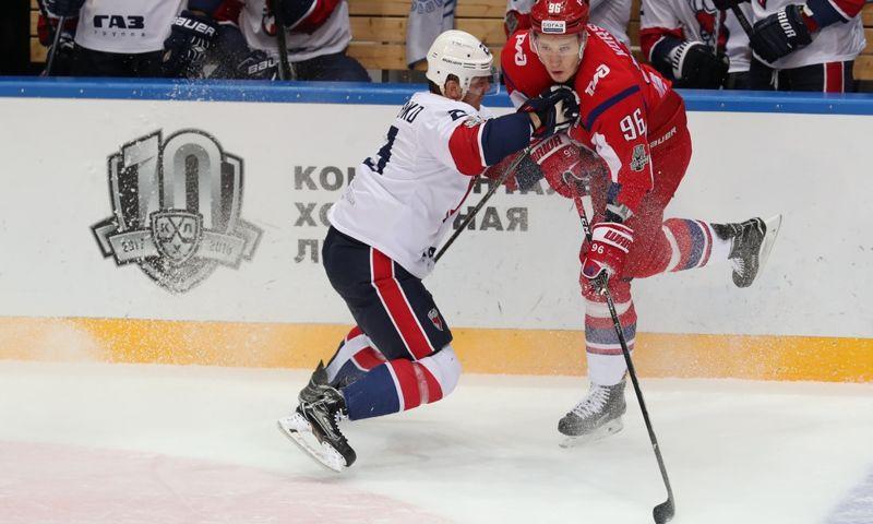«Локомотив» обыграл «Торпедо» в первом матче серии