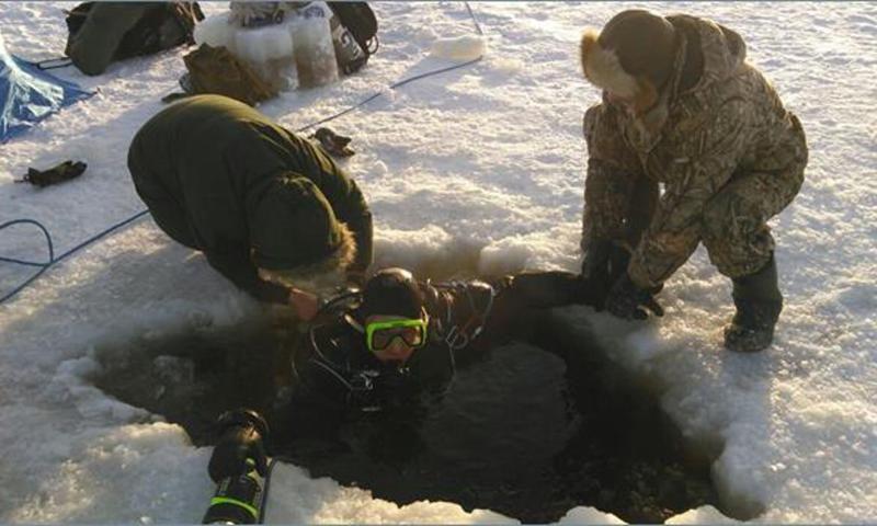 В Рыбинском водохранилище пройдут подледные исследования