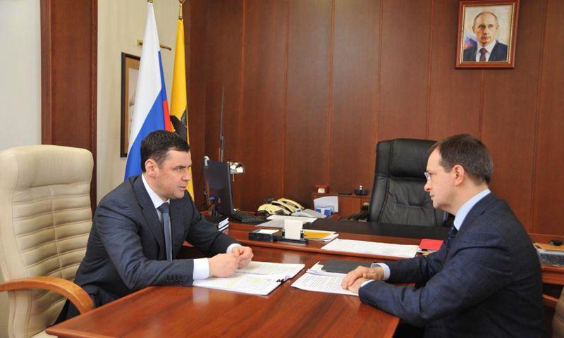 Губернатор обсудил с министром культуры вопросы развития маршрута Золотое кольцо