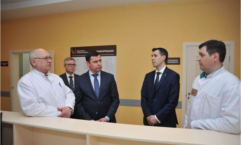В Соловьевской больнице после реконструкции открылось лор-отделение