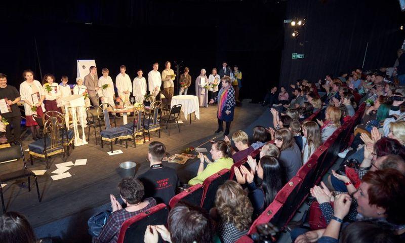 «Школа семейного театра» представила новую постановку с участием воспитанников интернатов и приемных семей