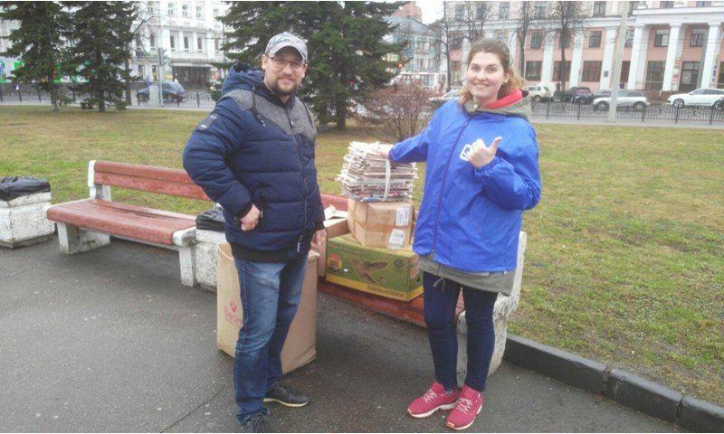 Акция против мусора в Ярославле: около тысячи человек пришли на площадь Волкова