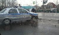 В Ярославской области патрульная машина столкнулась с «Лексусом»