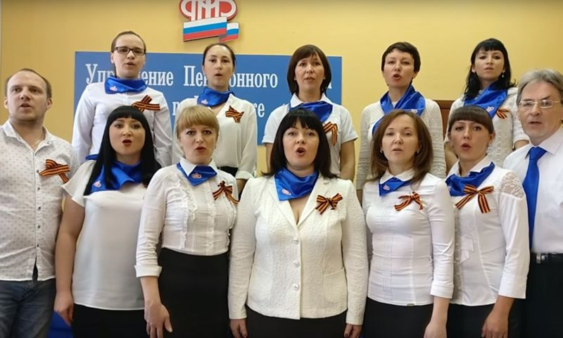 В Ярославской области сняли трогательный ролик про флешмоб, посвященный Дню Победы: видео