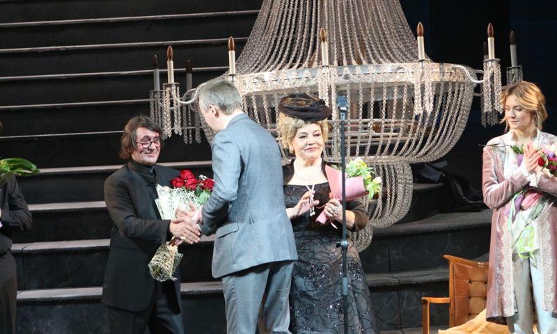 В Ярославле Юрию Башмету вручили региональные и городские награды