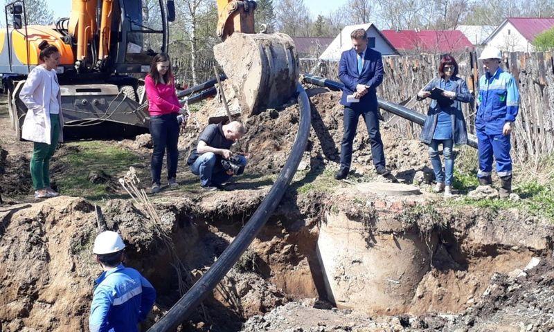 Северный водоканал ремонтирует водопровод в Рыбинске бестраншейным способом