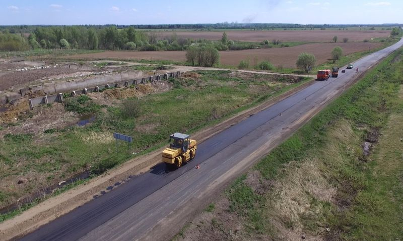 В Ярославской области начался ремонт по проекту «Безопасные и качественные дороги»