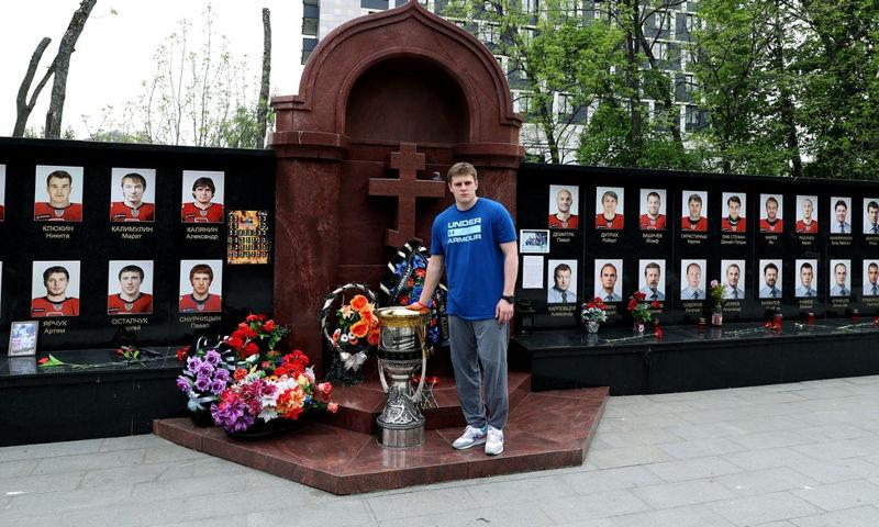 Воспитанник «Локомотива» привез Кубок Гагарина в Туношну