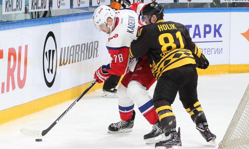 «Локомотив» обменял нападающего Кадейкина в «Салават Юлаев»