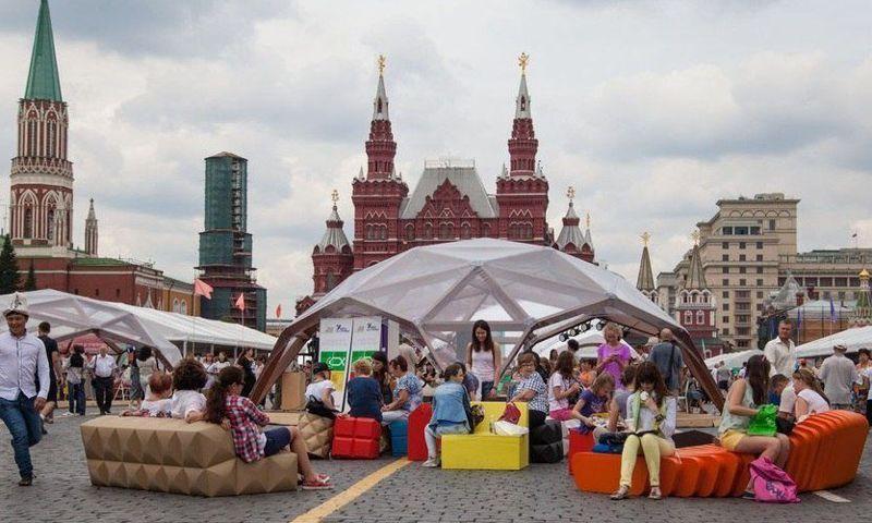 Фестиваль у стен Кремля. Ярославские книги покорили Москву