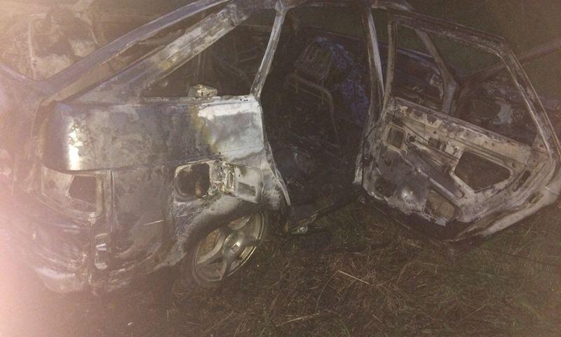 В Ярославской области за сутки сгорели две машины
