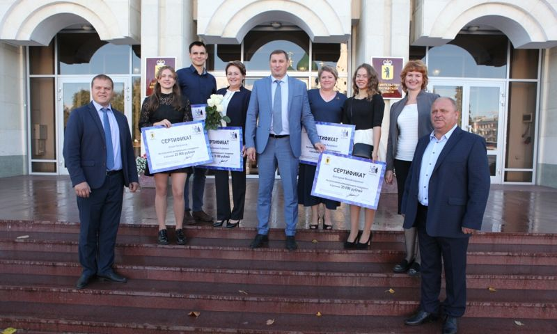 В Ярославле наградили спортсменов и тренеров за победы на чемпионатах мира и Европы по плаванию в ластах