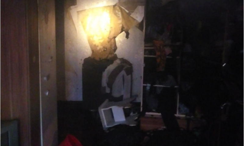В Ярославле правоохранители спасли людей из огня