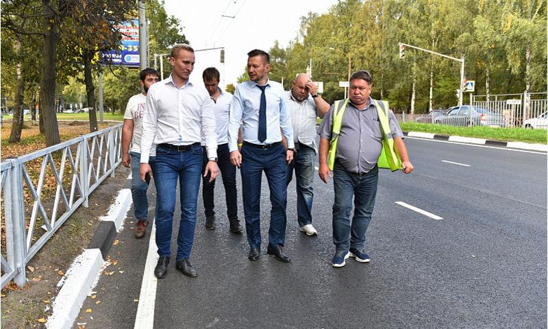 В Ярославле проспект Дзержинского сдадут к концу октября