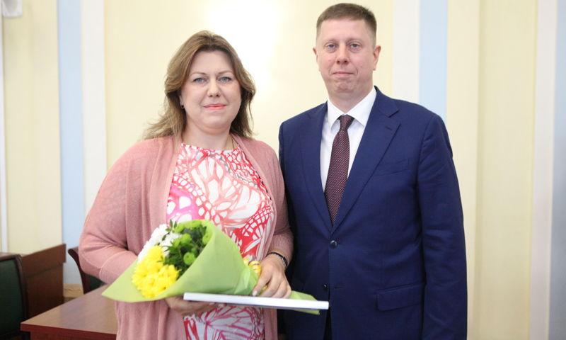 В Ярославле наградили победителей конкурса проектов «Бюджет для граждан»