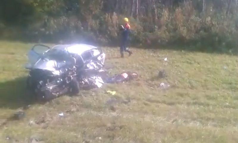 В Ярославской области в страшном ДТП погибли два человека