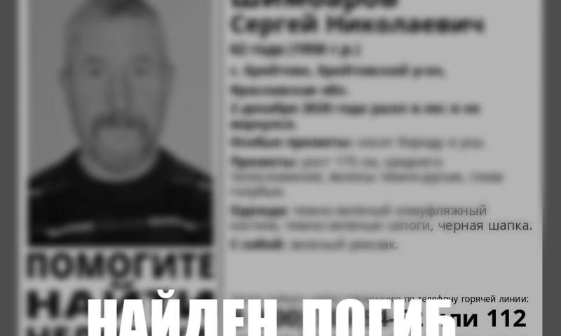 Пропавшего в Ярославской области пенсионера нашли мертвым