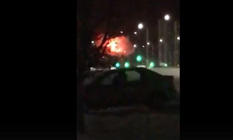 В Ярославской области произошел пожар на заводе