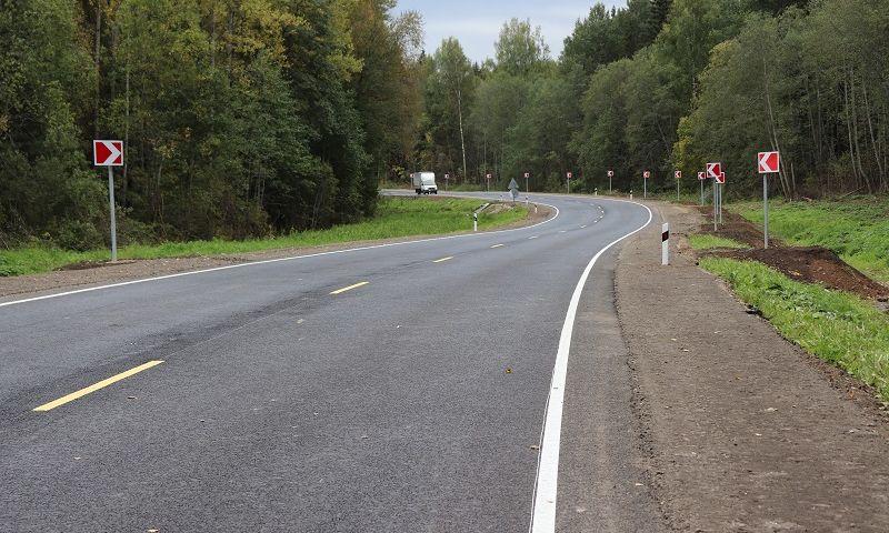 В Ярославской области отремонтировали более 10 километров дороги Новый Некоуз – Родионово – поселок Октябрь