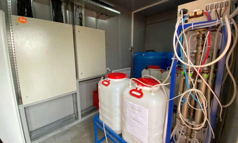 Современная станция водоочистки в поселке Красные Ткачи введена в эксплуатацию