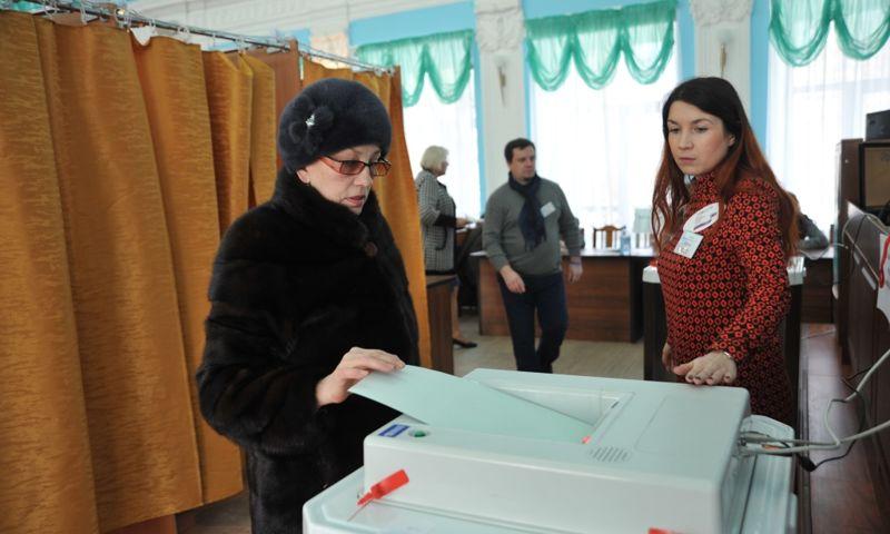 Более 650 тысяч жителей Ярославской области проголосовали на выборах Президента РФ