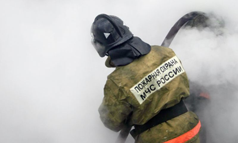 Под Ярославлем сгорела пилорама