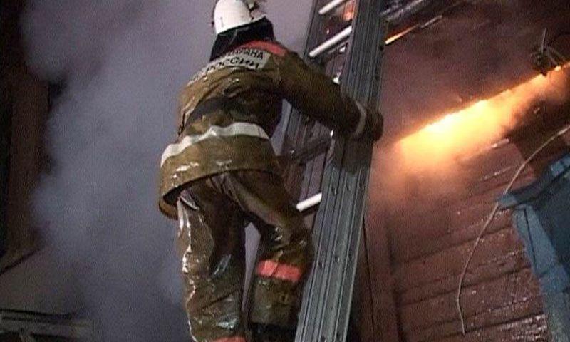 Страшный пожар в многоквартирном доме в центре Ярославля: спасли семь человек