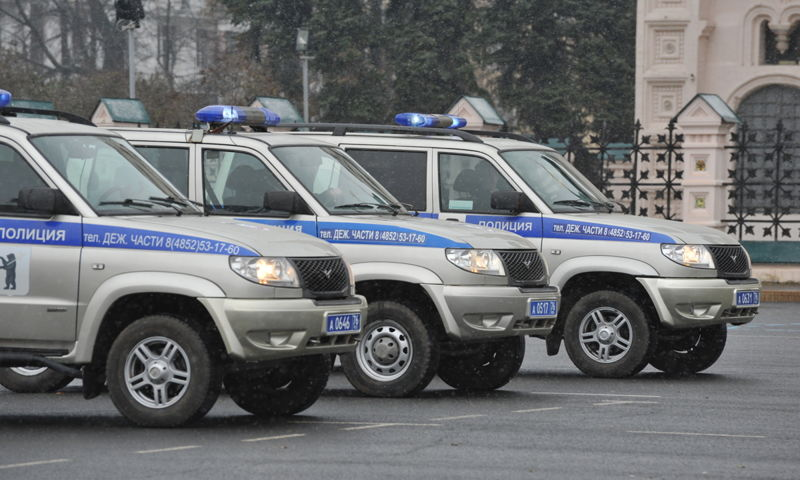 Из-за парада полицейских в Ярославле на время перекроют Советскую площадь