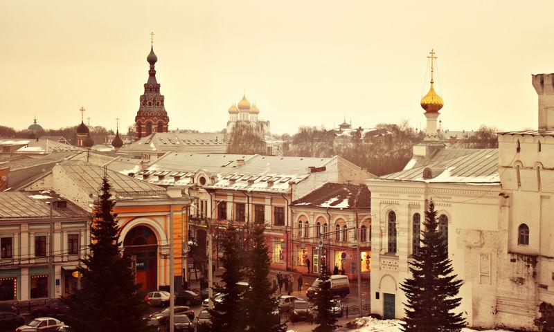В Ярославской области объявлен «желтый» уровень опасности