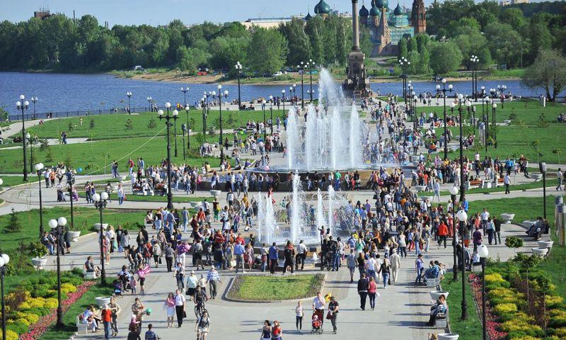 Количество туристов, проводящих в Ярославской области более суток, увеличилось на треть