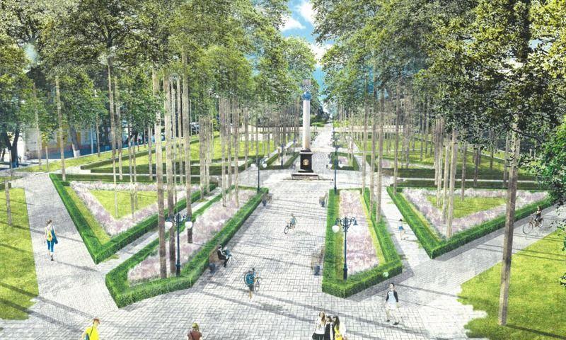 В Ярославле началась реконструкция Демидовского сквера