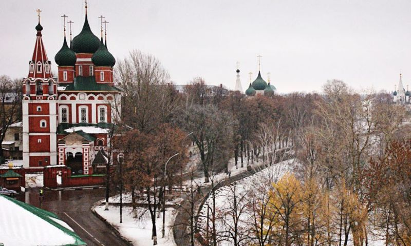 На наступившей неделе в Ярославле продолжится похолодание