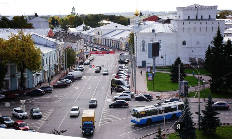 В исторической части Ярославля откроется туристический автобусный маршрут