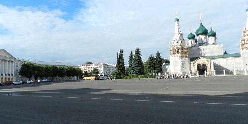 В Ярославле протестируют, как влияет подсветка на храм Ильи Пророка