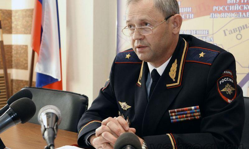 Глава УМВД по Ярославской области покидает свой пост?