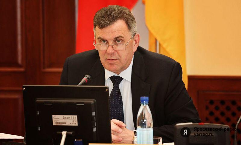 Сергей Ястребов поздравил Дениса Добрякова с победой на выборах