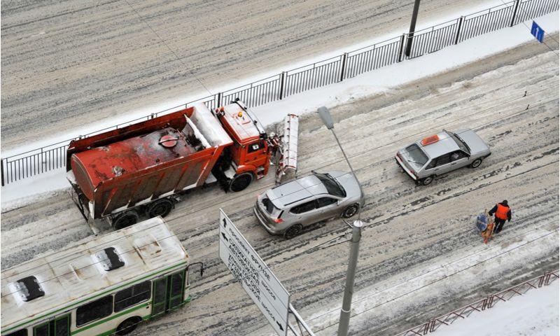 В феврале в Ярославле произошло 90 ДТП из-за скользких дорог
