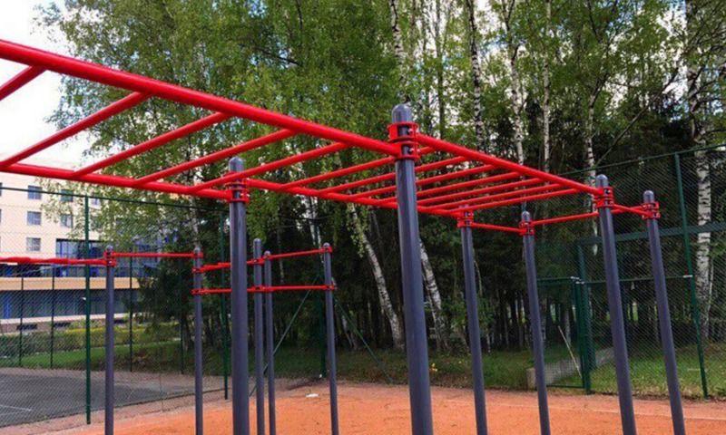 Две воркаут-площадки открыты в Пошехонском районе Ярославской области