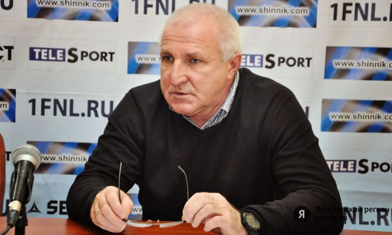 «Шинник» продлил контракт с главным тренером Побегаловым